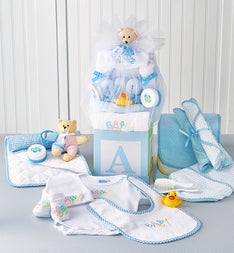 B-is-for-Baby Boy Gift Block