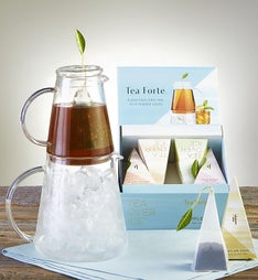 Tea Forte Tea Over Ice Pitcher Gift Set