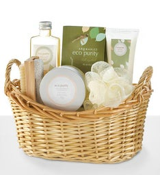 Green Tea and Bergamot Spa Gift Basket
