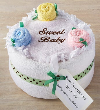 Sweet Surprise Gender Reveal Cake