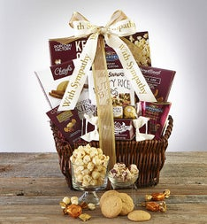 In Sympathy  Support Gift Basket