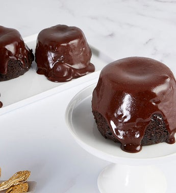 Bake Me A Wish Chocolate Truffle Lava Cakes