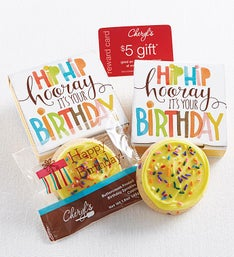 Cheryl's Hip Hip Hooray Buttercream Cookie Card