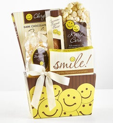 All Smiles Sweets  Treats Gift Basket