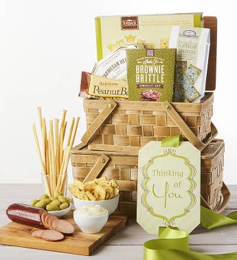 Thinking of You Sympathy Gift Hamper Set