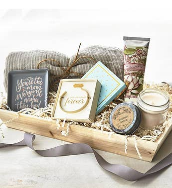 Little Indulgences Gift Crate for Mom