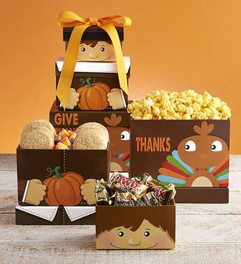 Give Thanks Sweets  Treats Tower