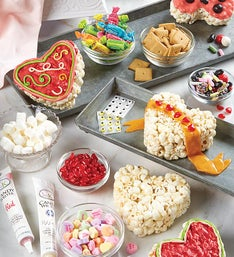 The Popcorn Factory Popcorn Heart Decorating Kit