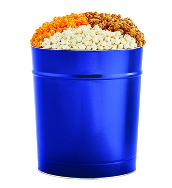 The Popcorn Factory 35G Blue Tin - 3 Flavors