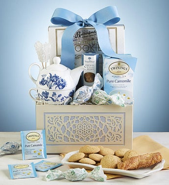 Love You Mom Relaxing Tea Gift Basket