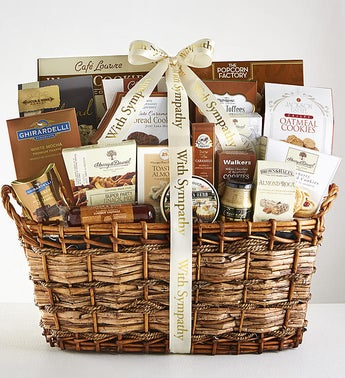 Youre in our Thoughts Sympathy Gift Basket