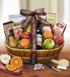Thank You Tour DArles Fruit Gift Basket