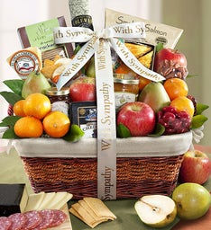 Remembering Your Loved One Sympathy Gift Basket