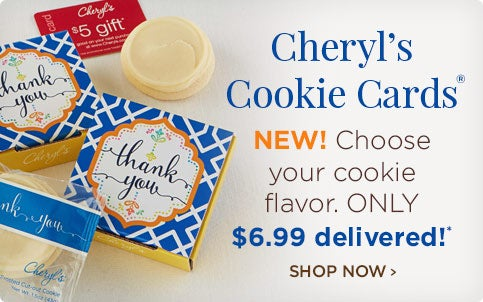 Shop our Cookie Card Collection