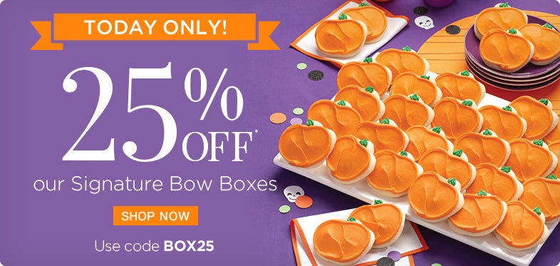 Save 25% on Bow Boxes with code BOX25