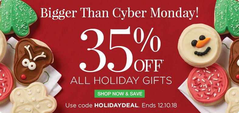 35% off Holiday Gifts