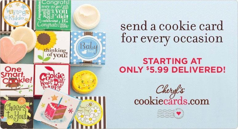 Cookie Cards Welcome