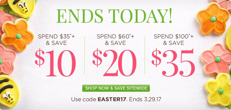 Ends today! Save up to $35