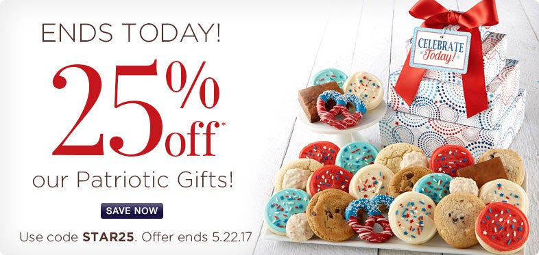 25% Off Patriotic Gifts!