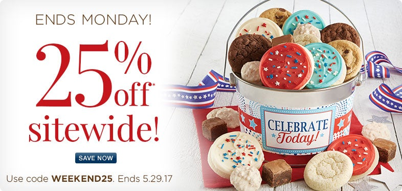 25% Off Memorial Day Gifts!