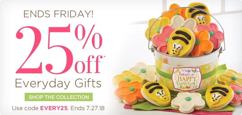 25% off Everyday Gifts