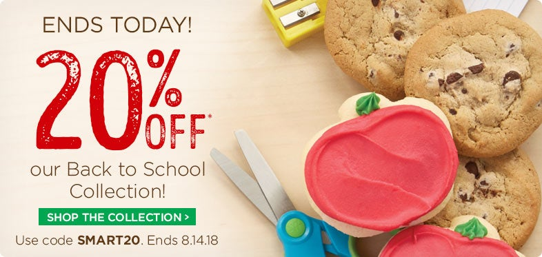 20% off Back to School Gifts