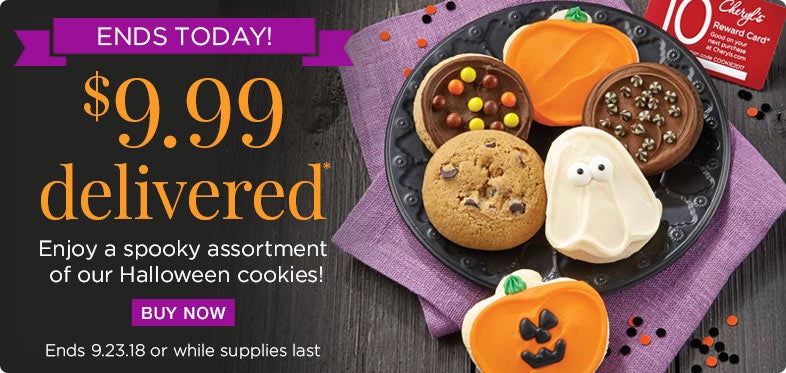 Halloween Sampler only $9.99 delivered