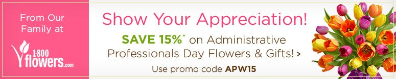Show your appreciation for Administrative Professionals Day