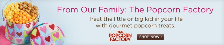 Great gifts from our sister brand The Popcorn Factory