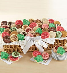 Buttercream Frosted Holiday Flavors Cookie Basket