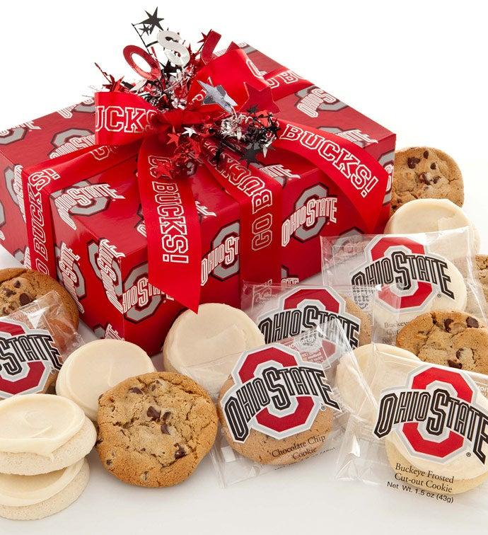 Ohio State Buckeye Cookie Gift - 24Ct