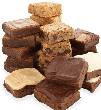 Create Your Own Bow Gift Box Brownie - 10Ct