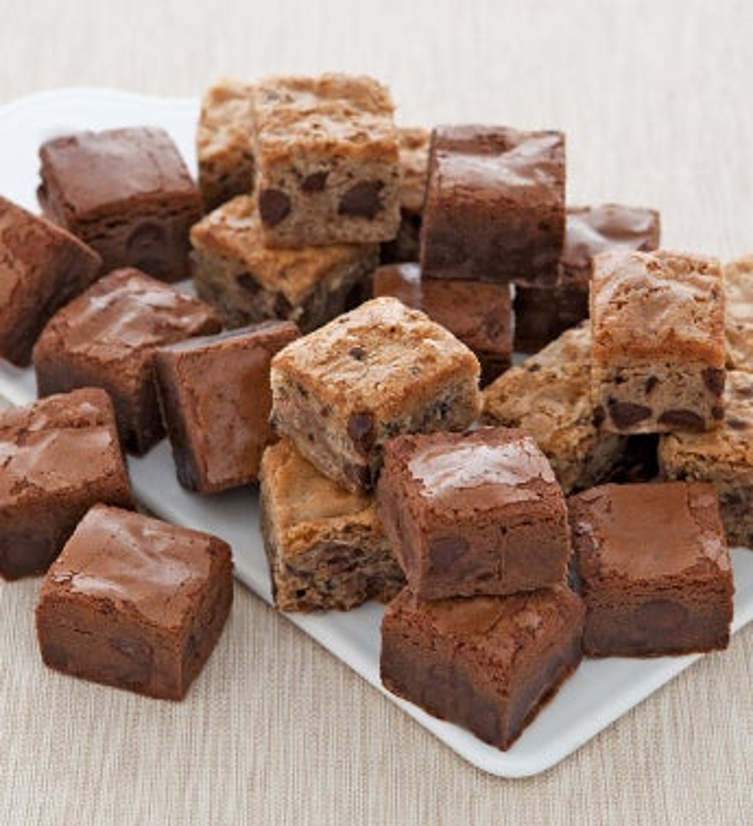 25 Count Brownie Mini Bow Box