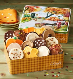 Autumn Gift Tin - Frosted Assortment