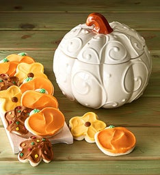 Collector's Edition Autumn Pumpkin Jar