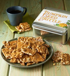 Pumpkin Seed Brittle Gift Tin