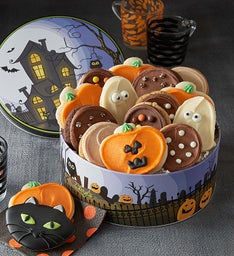 Haunted House Gift Tin - Frosted Cookies