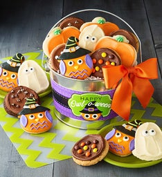 Halloween Frosted & Crunchy Cookie Pail