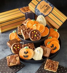 Halloween Cookie & Brownie Gift Boxes