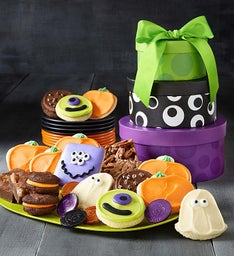 Halloween Monster Gift Tower
