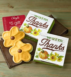 Fall Cookie & Gift Card Case