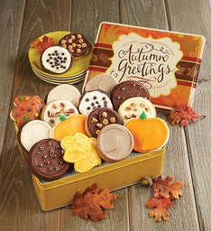 Autumn Gift Tin - Fall Frosted Assortment