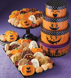 Jack O' Lantern Tin Tower