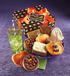 Halloween Cookie and Brownie Gift Box