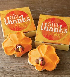 Give Thanks Cookie Card