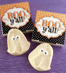 Boo Y'all Cookie Card