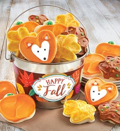 Happy Fall Cookie Pail