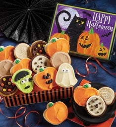 Halloween Gift Tin-Frosted Assortment