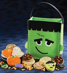 Frankenstein Trick or Treat Tote