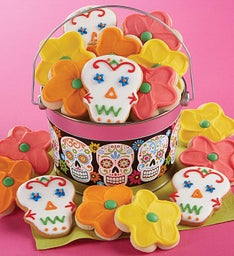 Day of The Dead Cookie Pail